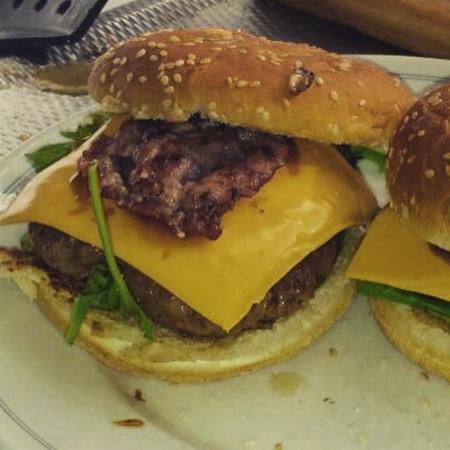 Hamburgers met mate